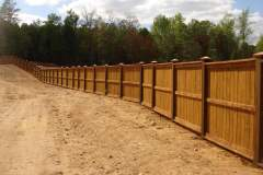 Stained Fencing